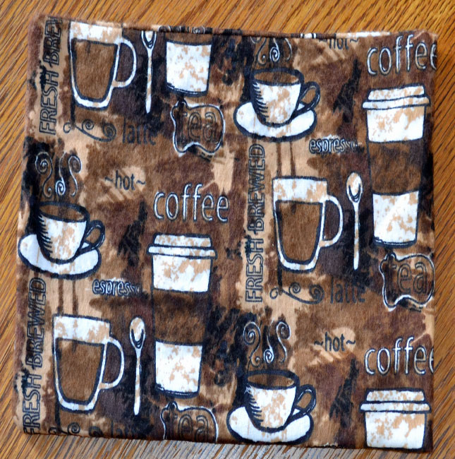 Mug Rugs 7 215 10 Inches 100 Cotton Flannel With Cotton